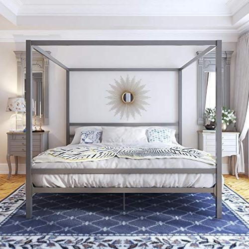 DHP Gunmetal Loft Bed,