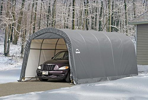 ShelterLogic Garage-in-a-Box Grey, 8