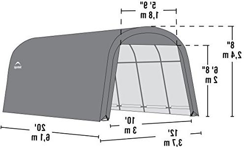 ShelterLogic Garage-in-a-Box 12 x 20 x 8 ft.