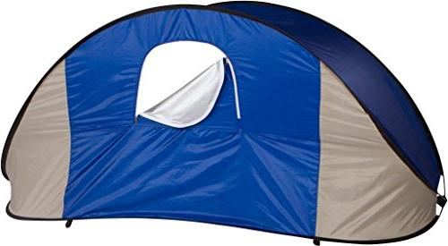 Trademark 7' Portable Pop-Up Wind Shelter Tent Canopy Carry