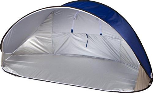 Trademark Portable Pop-Up Sun Shelter Tent Canopy with Carry Bag