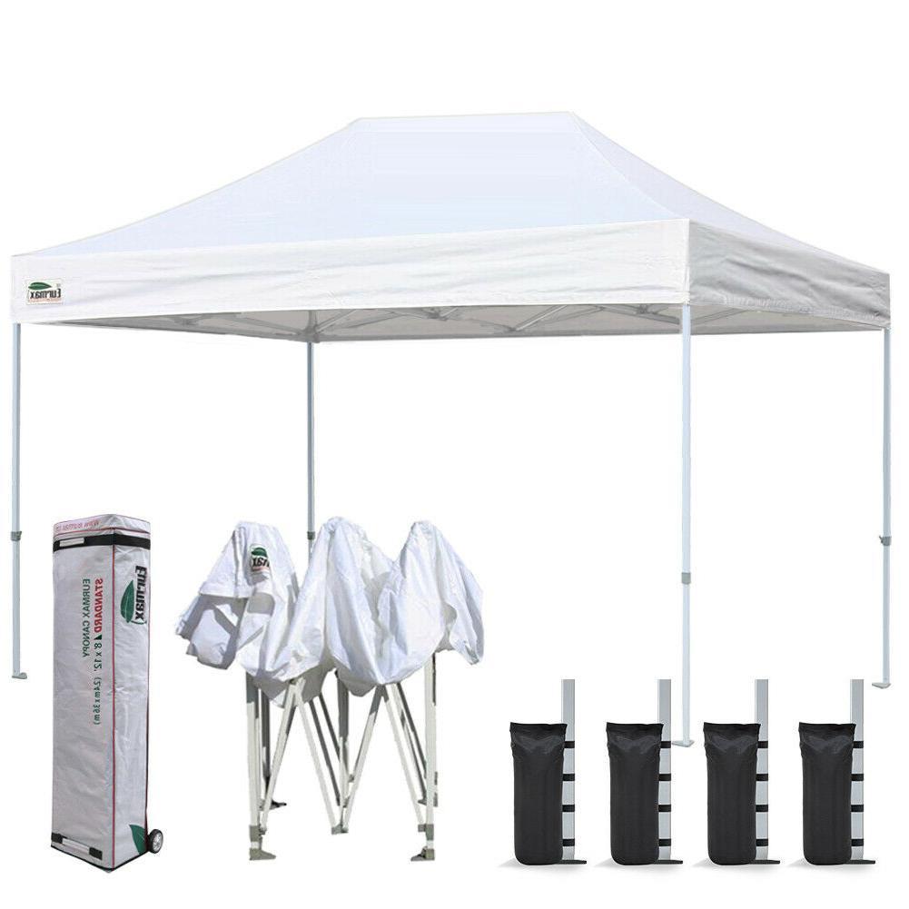 8x12 commercial canopy ez pop up outdoor