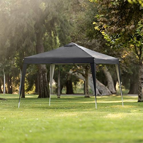 Best Products Outdoor Instant Canopy Height, Bag Black