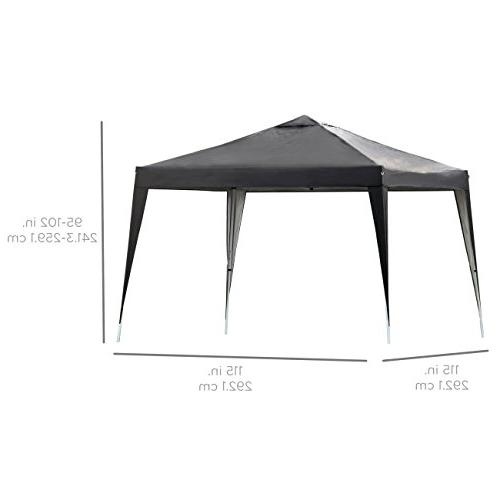 Best Choice Products Outdoor Portable Instant Canopy Height, Bag –