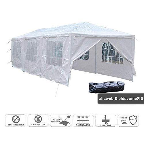 VINGLI 10' x 30' Canopy Wedding Party Tent