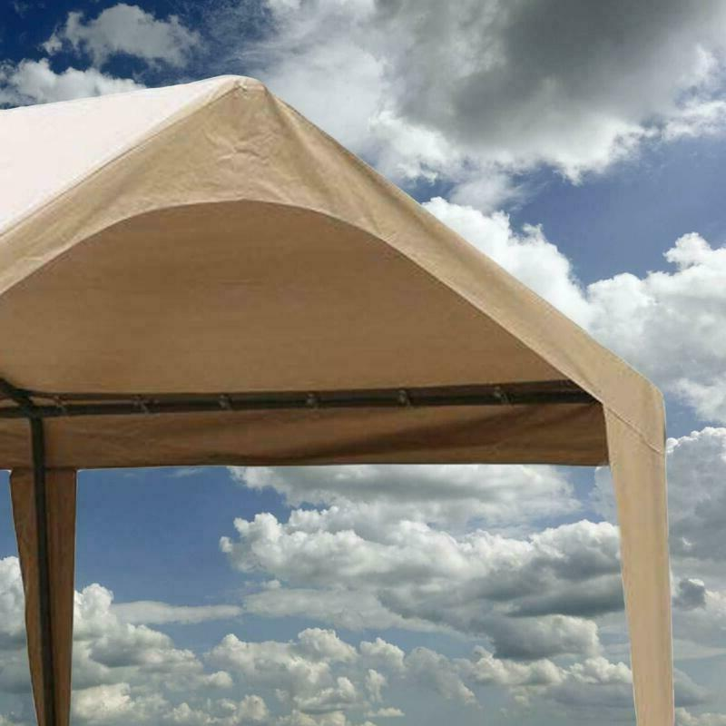 Abba 20-Feet Outdoor Canopy With 6 Beige