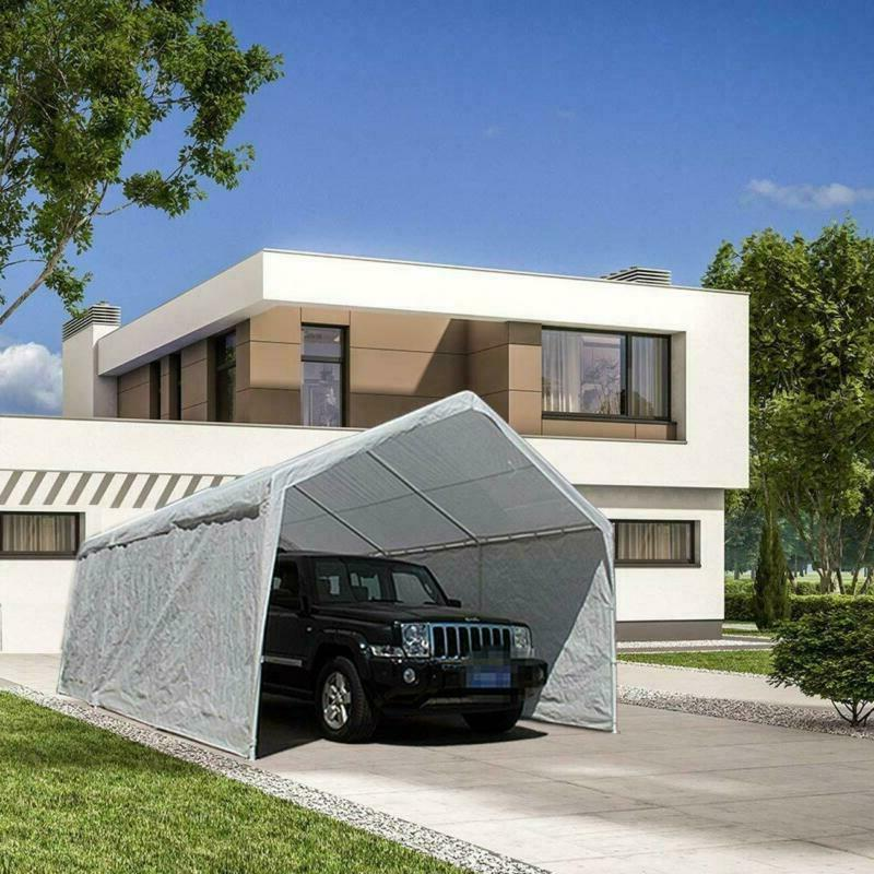 Abba x 20-Feet Heavy Car Canopy Shelter Removable