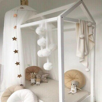 Baby Bed Mosquito Crib Canopy Deco
