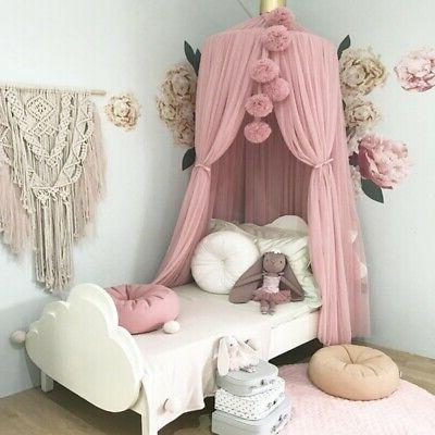 baby kid bed canopy mosquito net curtain