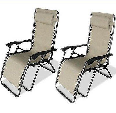 beige zero gravity chairs