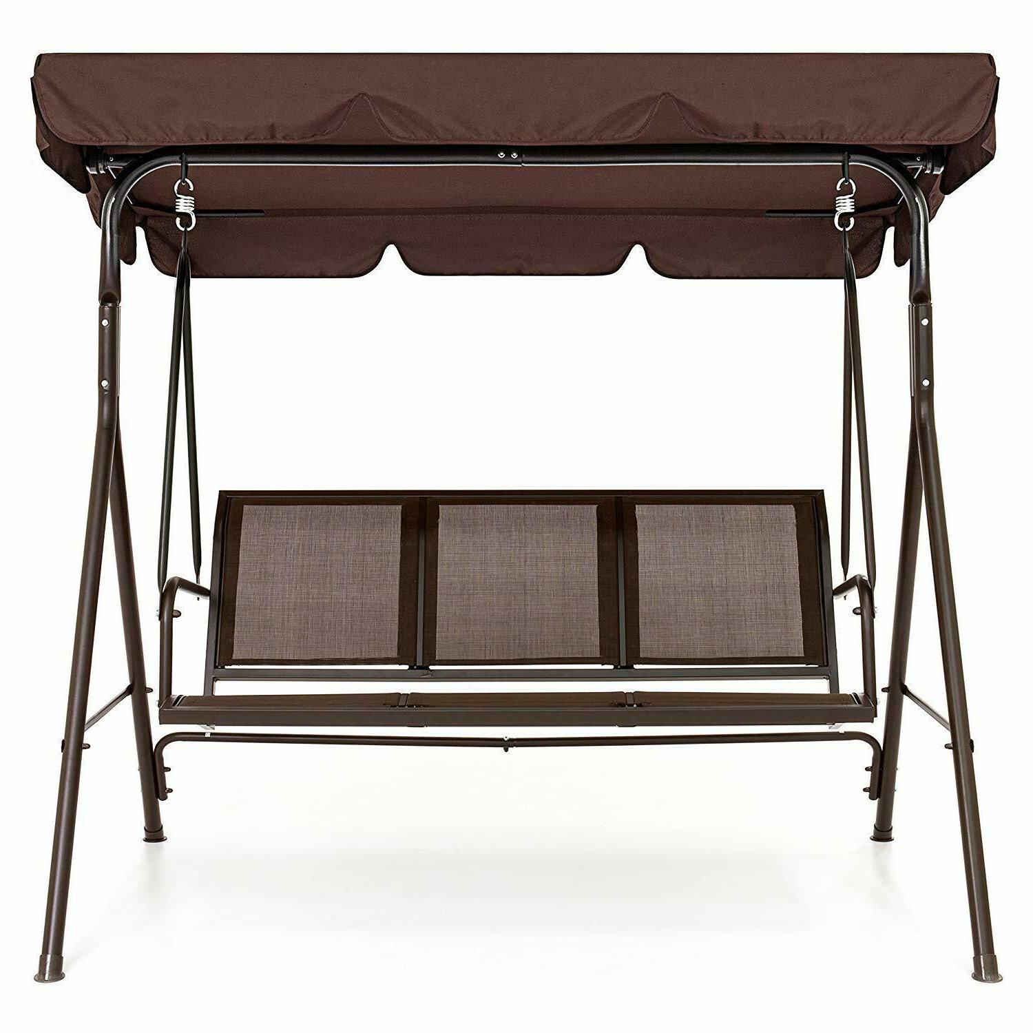 Best Choice Products 2-Person Outdoor Convertible Canopy Por