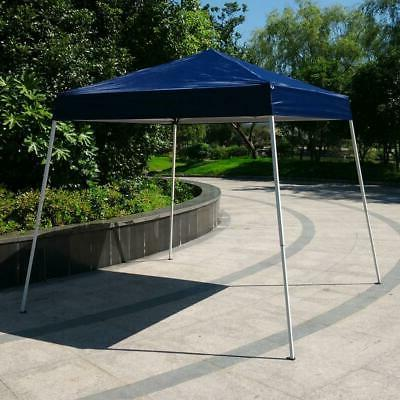 Blue Pop Up Canopy Party Tent Patio