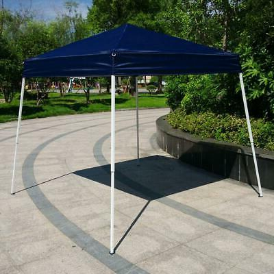 Blue 10'x10' Canopy Party Tent Patio Shelter Wedding