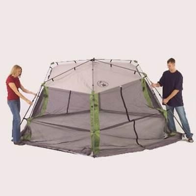 COLEMAN Camping Instant Screened Canopy Tent Carry Bag x