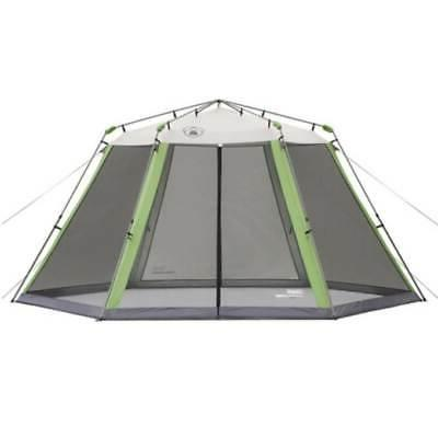 camping instant screened canopy tent shelter w