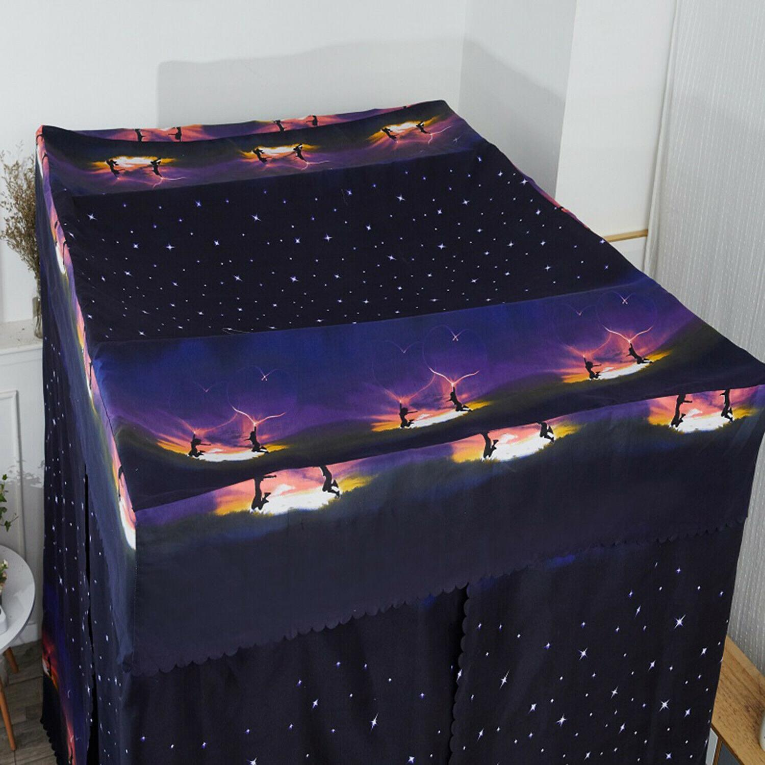 Canopy Bed Curtains Bed Four Tent Lightproof Canopies Size