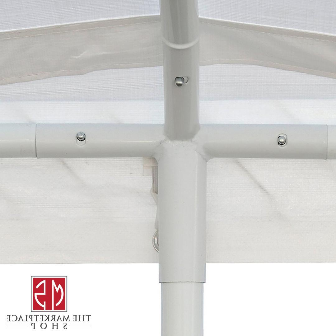 Canopy 20' Duty Garage Steel Frame