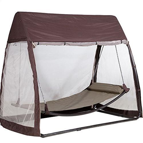 canopy cover hanging swing hammock