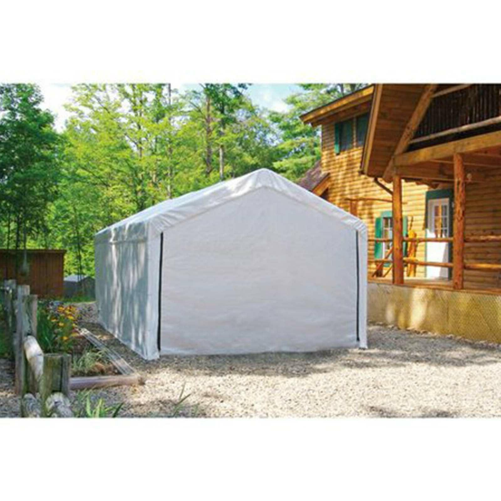 Canopy Shelter Protection Garage Car Cover