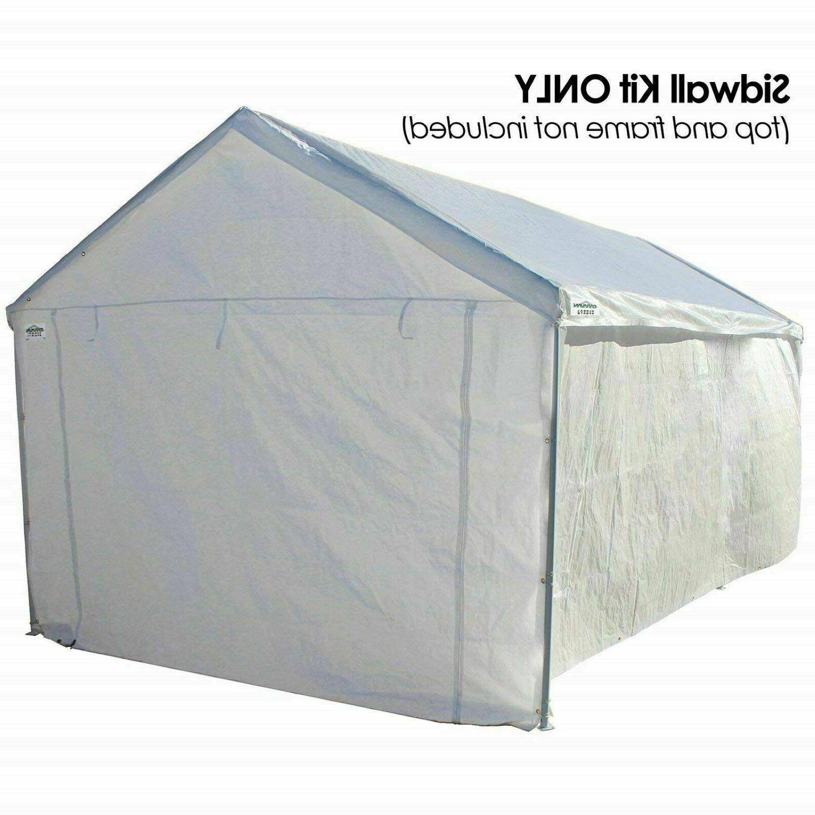 10x20 Kit Shelter Big Carport