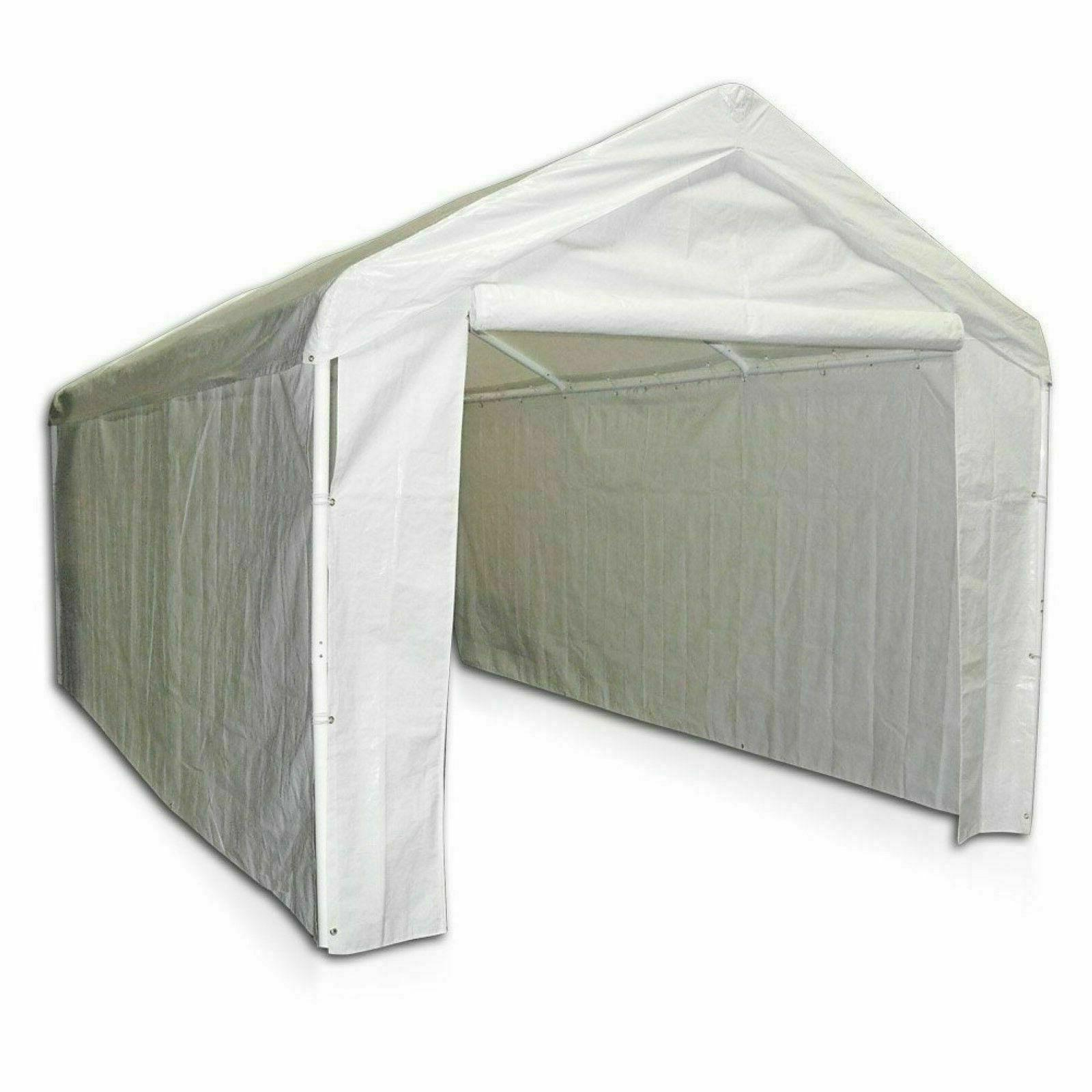 10x20 garage side wall kit only canopy