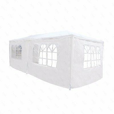 10'x20' Canopy Tent 4 Gazebo Pavilion Cater