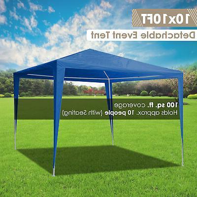 10'x10' Canopy Tent Pavilion Heavy Duty