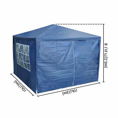 10'x10' Canopy Tent Duty Blue