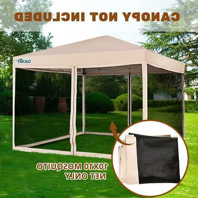 canopy screen walls replacement mosquito netting