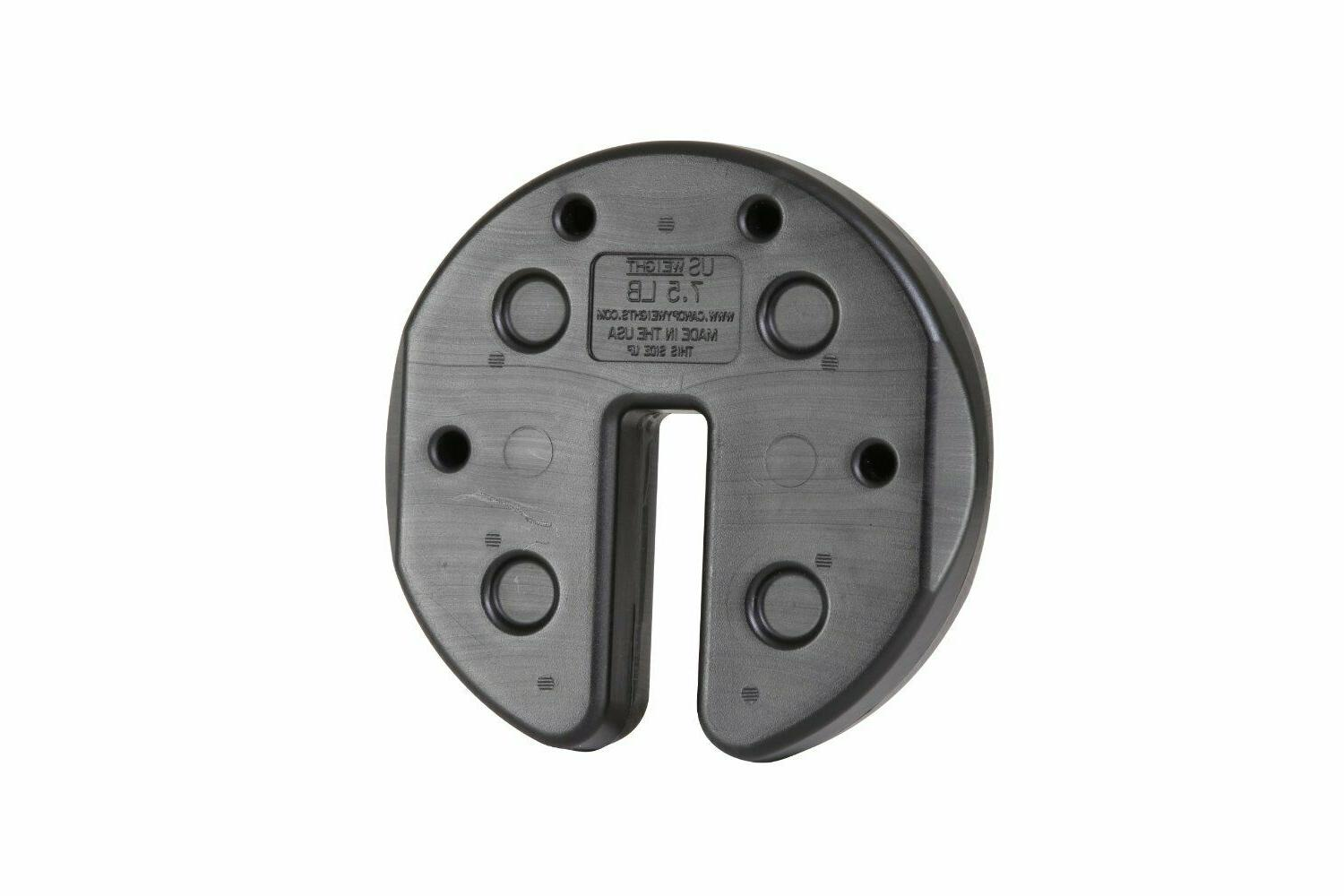 Canopy Weights Fillable Plates Wind