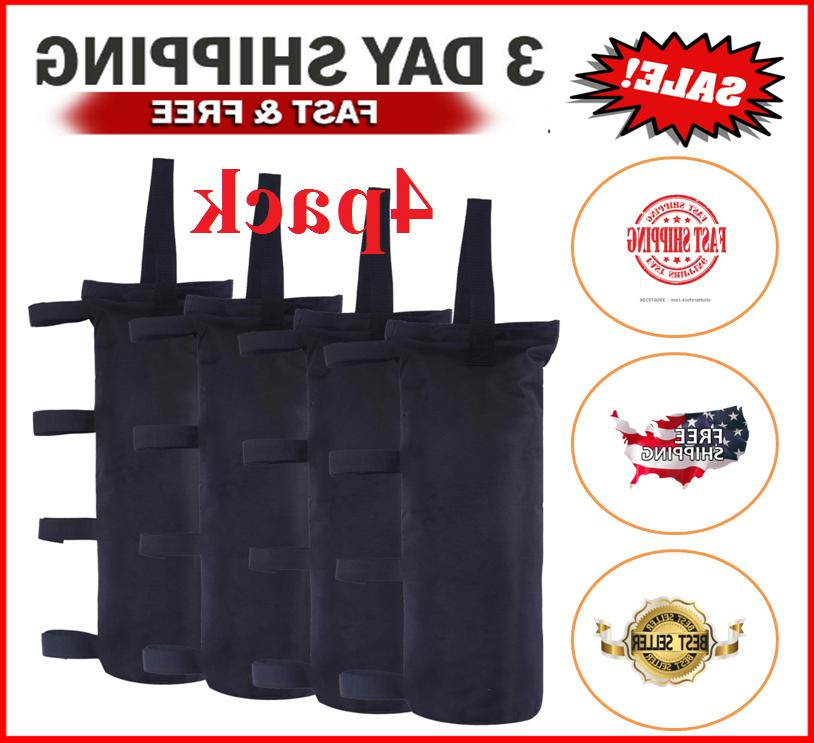 canopy tent weights leg bags sand bags