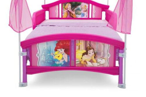 Delta Children Canopy Bed, Disney 20.72 pounds, Princess