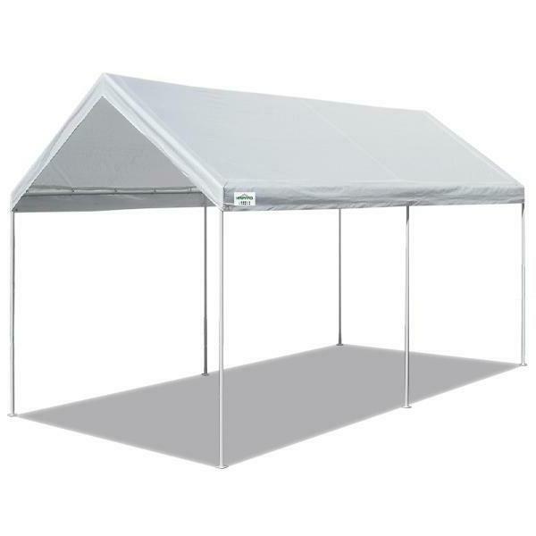 Caravan Sports Canopy Domain Carport Garage 200 Sq Ft Covera