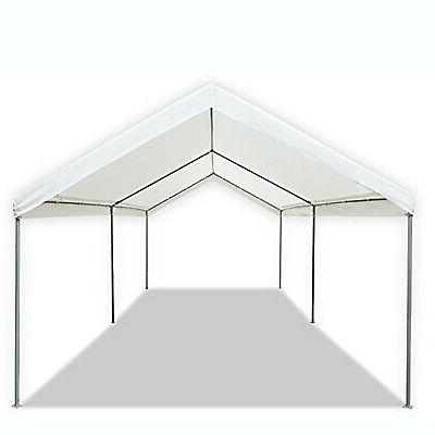 10x20 Canopy Tent Outdoor Car Shelter 6 Leg