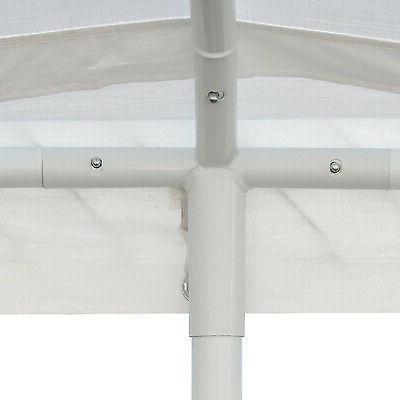 10 x 20 Carport Heavy Tent Shelter 6 White