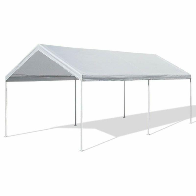 Carport Canopy Tent Portable Garage Shelter Port Heavy
