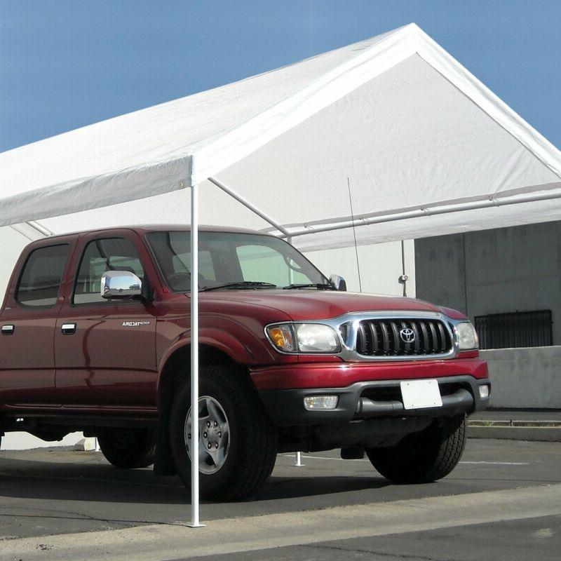 Carport Canopy Caravan Portable Garage Shelter Port Heavy