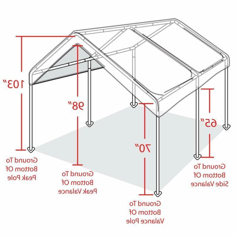 Carport Caravan Portable Garage Shelter Port
