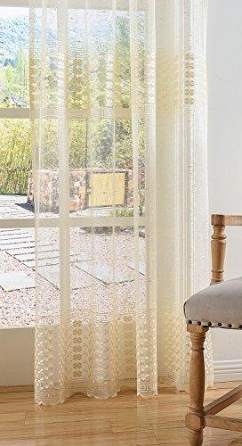Aside Bside and Top Design Curtains Voile