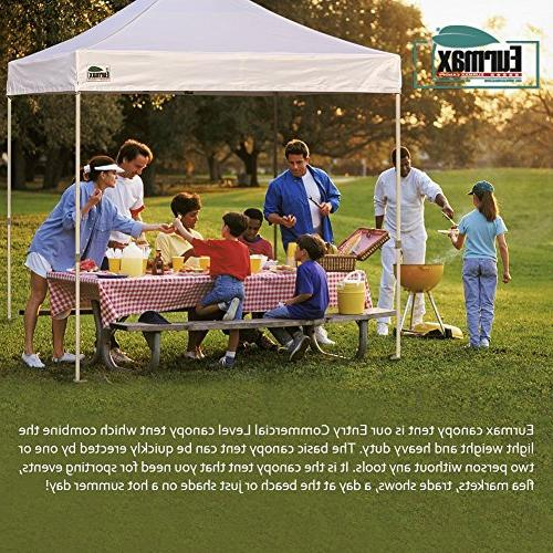 up Commercial Party Tent, Shelter 4 Zippered Carry