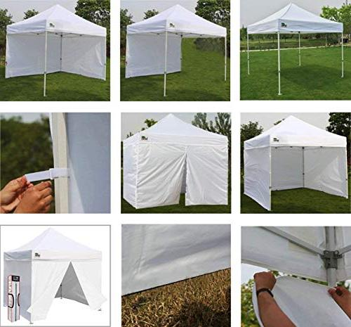Eurmax 10x10 up Tent, Outdoor Shelter 4 Zippered Carry