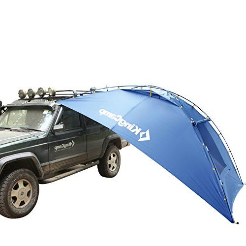 KingCamp Sun Auto Canopy Tent Roof Beach, Minivan, Outdoor, Anti-uv Tents, Waterproof,