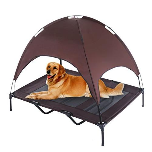 dog bed elevated pet cot