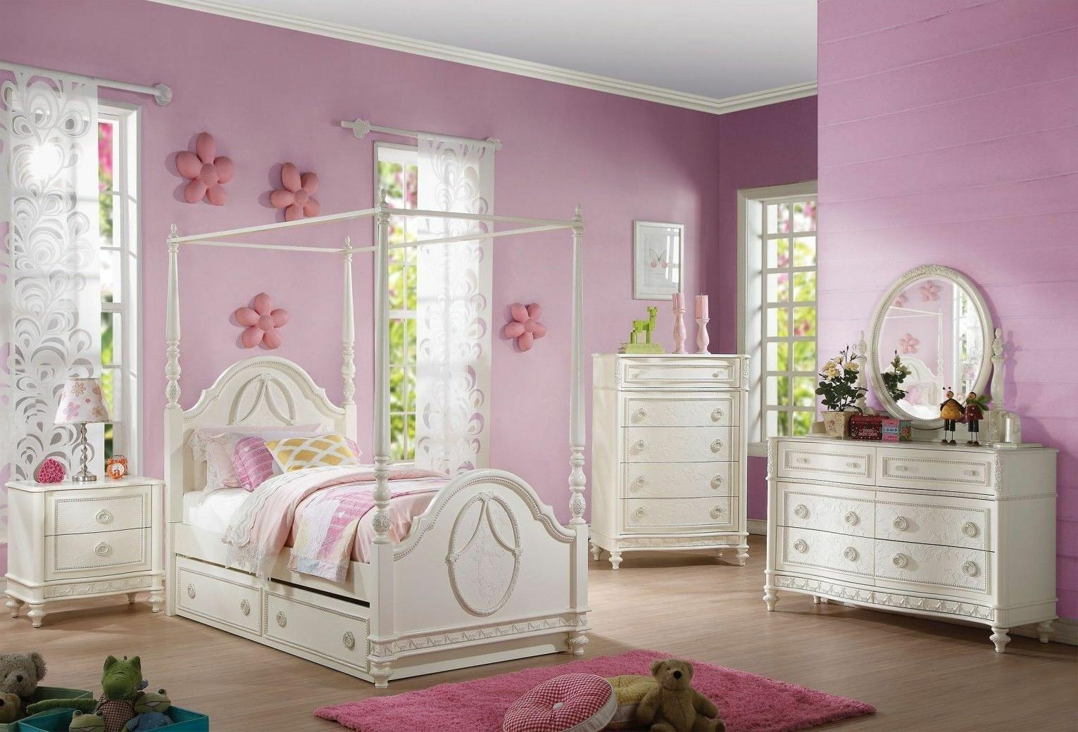 dorothy twin 4 piece canopy bedroom set