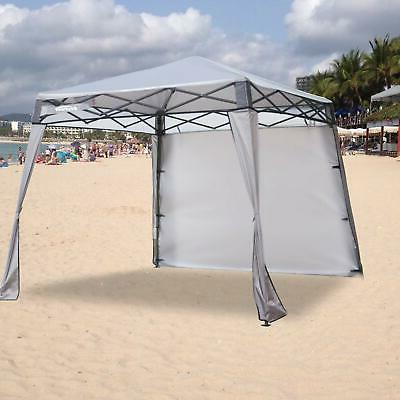 Square Replacement Canopy Top for 10' Slant Leg Black