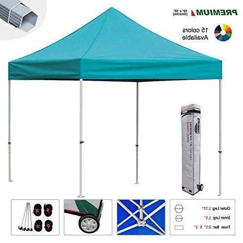 Eurmax Pop-up Tent Zipper Side and 4 SandBags