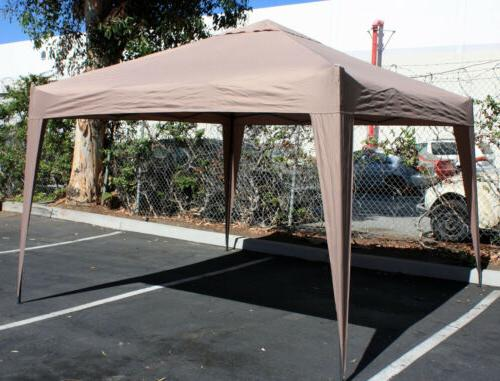 foldable portable canopy easy blue