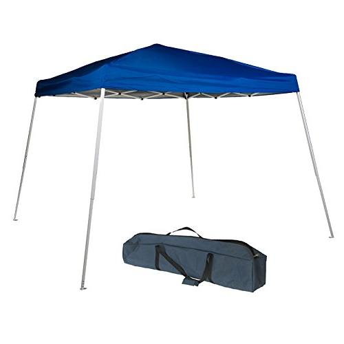 folding canopy slant leg easy