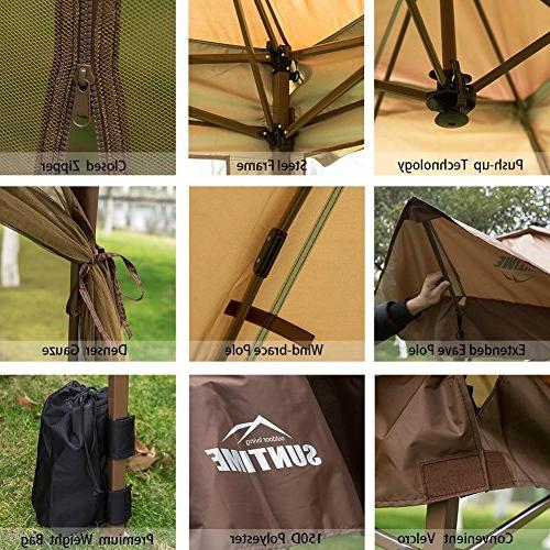 12' x Gazebo Canopy Netting