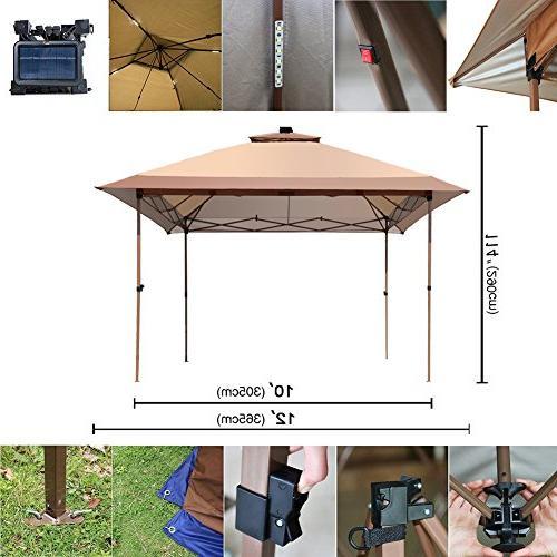 12' x 12' Gazebo Canopy Netting